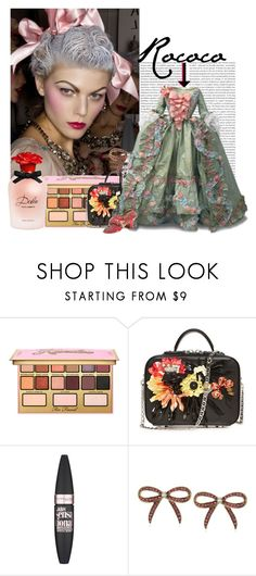 """""""Rococo Inspired"""" by paulid ❤ liked on Polyvore featuring beauty, Oris, Kandee, La Perla, Maybelline, Betsey Johnson and Dolce&Gabbana"""