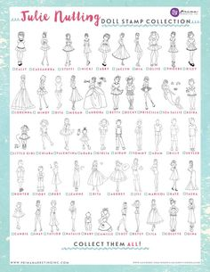 Updated list – Prema – Julie Nutting dolls stamps