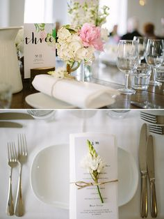 white and pink wedding decor @weddingchicks