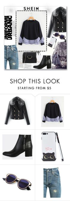 """""""Urban Uniform"""" by musicajla ❤ liked on Polyvore featuring Levi's"""