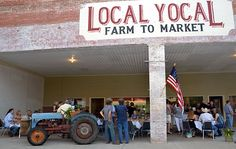 Local Yocal .....A place for local beef, eggs, milk, cheese.