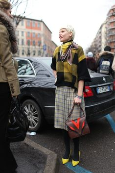 They Are Wearing: The Best Street Style From the Fall Collections - Slideshow
