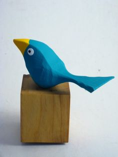 Your place to buy and sell all things handmade Fat Bird, Wood Crafts, Paper Crafts, Gag Gifts Christmas, Found Object Art, Small Birds, Wooden Decor, Wood Carvings, Bird Art