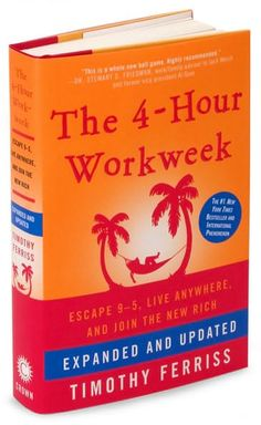 Tim Ferriss, The 4-Hour Workweek, a must read about productivity and entrepreneurship