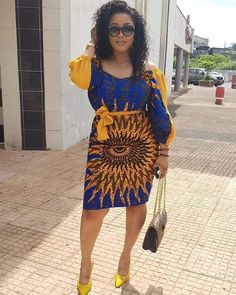 Ankara styles 2020 are one of the most gorgeous African dresses. Get latest Ankara styles and attire trending now which you can even use for Asoebi. Long Ankara Dresses, Latest Ankara Short Gown, African Print Dresses, African Dress, African Prints, Ankara Short Gown Styles, Trendy Ankara Styles, Short Gowns, African Fashion Ankara