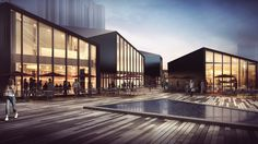 RTA-Offices Designs Service Center for China's International Garden Expo