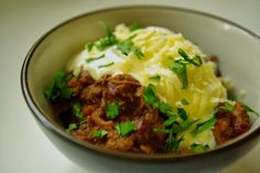 Texas-style slow cooked chilli
