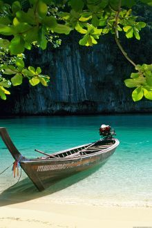 Wallpaper Samsung Galaxy S6 Boat Beach Awesome