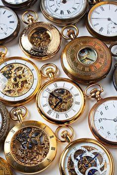 relógios de bolso
