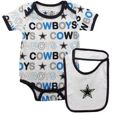 Dallas Cowboys Baby Gear (gross) but it will keep daddy happy;)