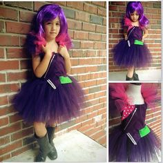 Mal costume descendents disney tutu dress by JoyfulCreationsBtque