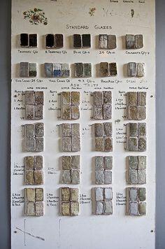 Bernard Leach Pottery Studio St.Ives Glaze Recipes | Flickr - Photo Sharing!