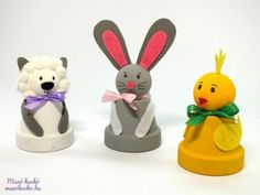 Easter Crafts, Easter Decor, Holidays And Events, Diy And Crafts, Bricolage, Noel, Bunnies, Easter, Creative