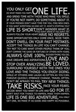 Love Your Life - Motivational Quotes Silk Poster Home Decor Motivational Quotes For Men, Men Quotes, Inspirational Quotes, Motivational Wallpaper, Wedding Crashers Quotes, Quotes To Live By, Love Quotes, Love Your Life, Life Motivation