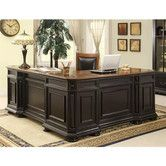 Found it at Wayfair - Allegro L-Shaped Executive Desk and Return