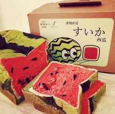 watermelon tasty bread 6 package