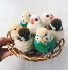 毛糸を結んで作る小鳥がカワイイ!思わずチャレンジしたくなっちゃう! | CRASIA(クラシア)