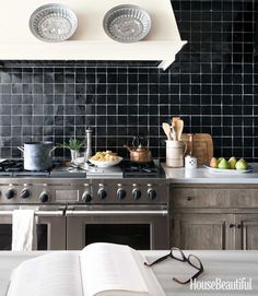 Kitchen Backsplash Ideas - Tile Designs for Kitchen Backsplashes