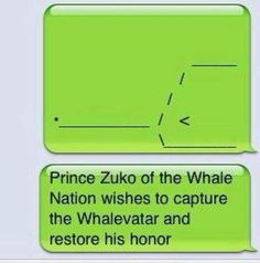 I laughed too hard at this. Whalevatar, oh my!