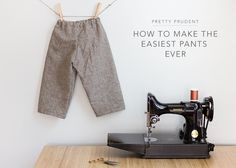 How-to-make-the-Easiest-Pants-Ever-on-Pretty-Prudent