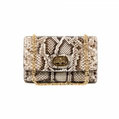 Dee Firenze Phyton Clutch - 14771-50975-8050569093397 $1348.00 Trendy Handbags, Fashion Handbags, Python, Branded Bags, Clutch, Party Bags, Beige Color, Evening Bags, Women Accessories
