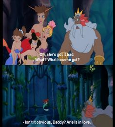 I always loved Ariel's sisters!