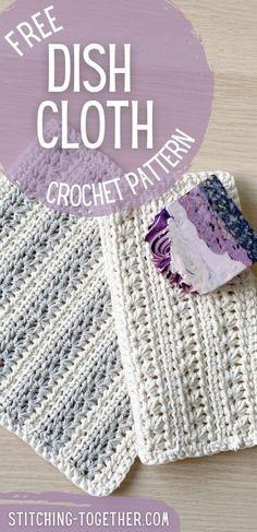 Crochet Towel Holders, Crochet Dish Towels, Crochet Towel Topper, Crochet Potholders, Knit Kitchen Towel Pattern, Crochet Kitchen, Crochet Ideas, Free Crochet, Crochet Patterns