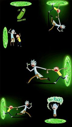 Rick And Morty Wallpaper Iphone Visual Therapy Rick