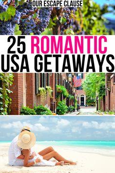 Romantic Escapes, Romantic Places, Romantic Vacations, Romantic Getaways, Romantic Travel, Usa Travel Guide, Travel Usa, Travel Tips, Vacation Savings