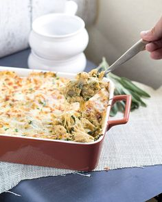 Pumpkin dishes don't necessarily have to be sweet. Take your next pumpkin dish to the savory level with this Four Cheese Pumpkin Pasta Bake.