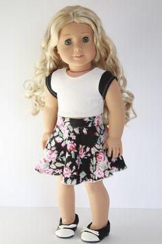 American Girl Doll 18 Inch Clothes Trendy Black by Closet4Chloe