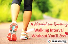 Challenge Every Muscle with This Walking Interval Workout via @SparkPeople