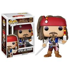 Disney Pop! Vinyl Figure Captain Jack Sparrow [Pirates of Caribbean]