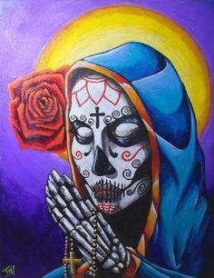 Catrina - Acrylic on canvas 80x60cm
