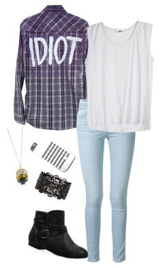 """""""Back to school #3"""" by pwhyperlink ❤ liked on Polyvore featuring Frame Denim and Avenue"""