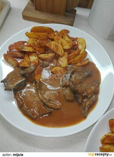 Slovak Recipes, Stew, Sweet Home, Pork, Food And Drink, Menu, Treats, Kitchen, Kale Stir Fry