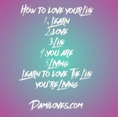 How to love yourself- a five step guide