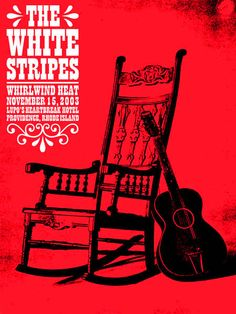 GigPosters.com - White Stripes, The - Whirlwind Heat