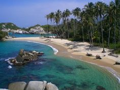 Tayrona Park, Santa Marta Colombia.  Most amazing place I've ever been and I can't wait to go back!  At least once a year!!!