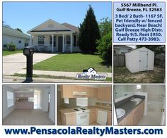 34 best pensacola homes for rent images renting a house home for rh pinterest com