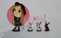 #Lana Lanita#, Ghibli, #Comic, #Caricatura, #draw, #dibujo, #picture, #draw #illustration,  #art #dibujo,  #youtuber, #youtube, #Conejos, #Rabbit