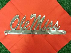 Shop for valentines day gift for him on Etsy, the place to express your creativity through the buying and selling of handmade and vintage goods. Football Fans, College Football, College Store, Fan Store, Ole Miss, Great Christmas Gifts, Wall Hanger, Gifts For Him, Rebel