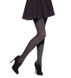 9ad3cb5ddd787 Hue Alligator Tights with Control Top (U14797) at Amazon Women's Clothing  store: Hue