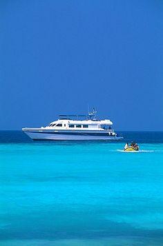 Yacht, Farasan Island, Red Sea, Saudi Arabia, Middle East