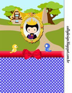 """CALLY'S DESIGN-Kits Personalizados Gratuitos: Kit Personalizado Tema """"Branca de Neve Cute"""""""