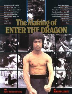The Making of Enter the Dragon by Robert Clouse Paperback) Bruce Lee Bruce Lee Books, Bruce Lee Art, Bruce Lee Family, Bruce Lee Quotes, Rock Lee, Kelly Hu, Ultimate Dragon, Green Hornet, Brandon Lee