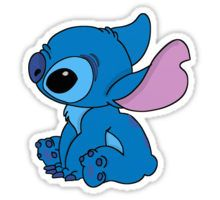 Very cute Stitch Sticker