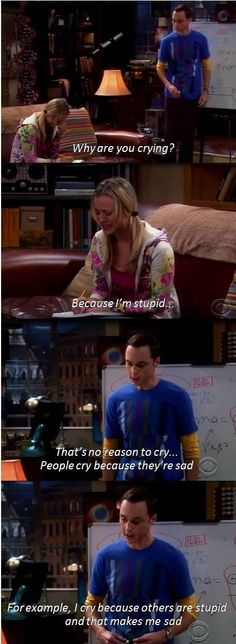 Oh Sheldon..