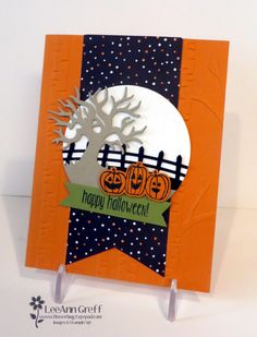 Spooky Fun Banner; for the 2016 Holiday catalog Control Freaks blog hop from Flowerbug's Inkspot