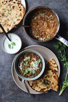 Daal Makhani and Butter Garlic Naan